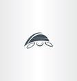 turtle logo icon element vector image