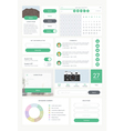 ui kit for mobile 01 vector image
