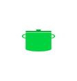 Pot Icon vector image