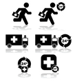Health emergency vector image