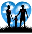 family together vector image