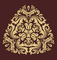 Oriental abstract pattern vector image
