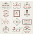 Retro Coffee Labels vector image vector image