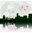 Tokyo City Skyline vector image vector image
