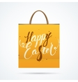 Easter paper bag with shadow vector image