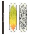 Skateboard Design Two vector image