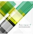 Straight glossy geometric design lines vector image