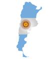 Argentina Flag vector image