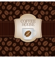 Coffee Template Background vector image