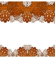 Leaf lace background royalty free vector image for Chocolate lace template