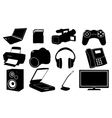 Of different electronics vector image