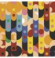 Pattern Abstract color circle dot vector image