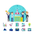Start Up Company Concept vector image