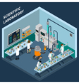 Science Isometric Concept vector image
