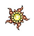 Gem Sun vector image