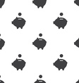 moneybox piggy seamless pattern vector image