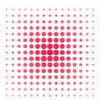 pink dots on white background vector image