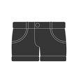 Shorts icon vector image