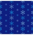 Winter Seamless Snowflake Pattern EPS 10 vector image