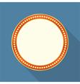 Round Retro Banner vector image vector image