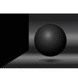 3d ball vector image vector image