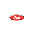 Links button vector image