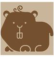 hamster icon vector image