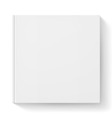 White notebook vector image