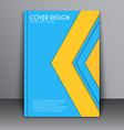 Cover Material design style vector image