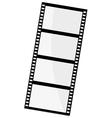 of film frame vector image