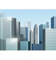 Sunrise cityscape stock vector image vector image