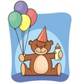 1st bearthday vector image vector image