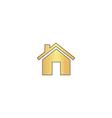 Real Estate computer symbol vector image