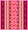 ethnic fabric pattern vector image