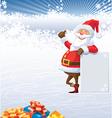 christmas of santa claus vector image vector image