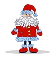 Santa Claus isolated Xmas vector image