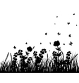 meadow vector image vector image