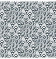ornamental waves zentangle pattern creative vector image
