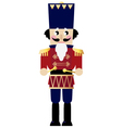 Cute retro Nutcracker vector image vector image
