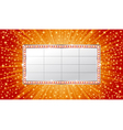 marquee banner vector image vector image