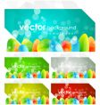 modern abstract background set vector image vector image
