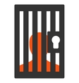 Prison icon from Business Bicolor Set vector image