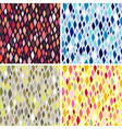 colorful tiles abstract seamless pattern vector image