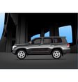 Sport utility vehicle car vector image vector image