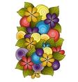 Flower ornament template design Floral mandala vector image