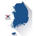 south korea culture vector image