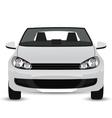 White Car vector image