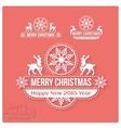 Wishing you much Joy Holiday season Happy New 2015 vector image