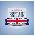 Made in Britan United Kingdom badge vector image