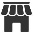 Shop Building Flat Icon vector image